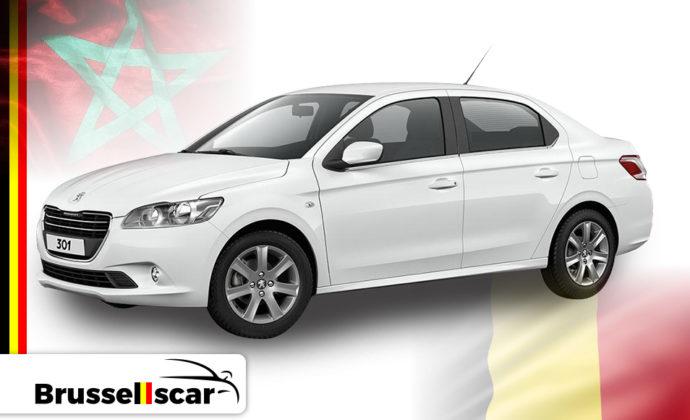 location de voiture Peugeot 301 Diesel – Agadir et Marrakech