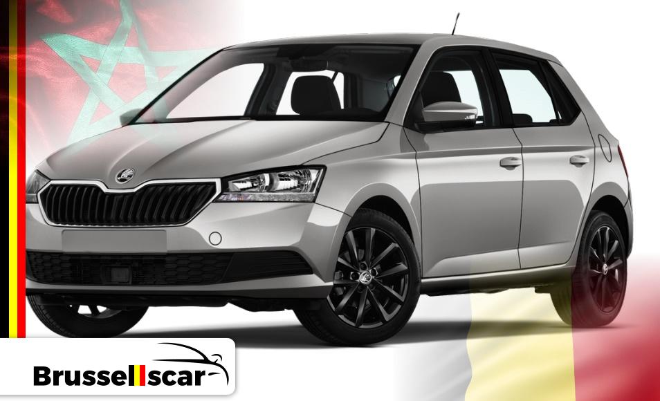 Location de voiture Mini-citadines Škoda Fabia, 5 places pas cher à Agadir et marrakech aéroport chez SaranzCar