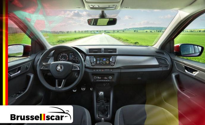 voiture de location à Agadir et Marrakech Mini-citadines Škoda Fabia 5 places pas cher chez Brusselscar