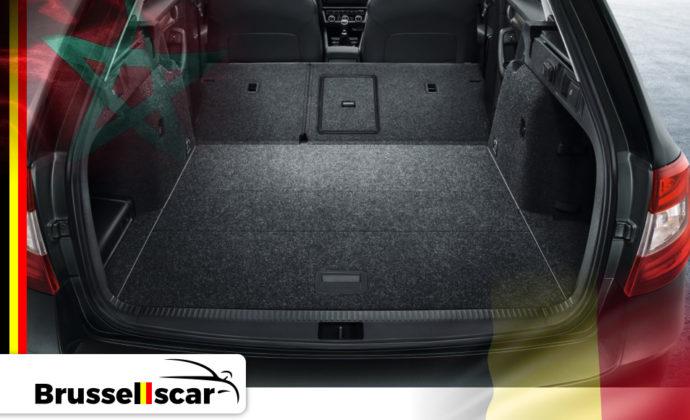 voiture de location à Agadir et Marrakech Berline Skoda Octavia 5 places pas cher chez Brusselscar
