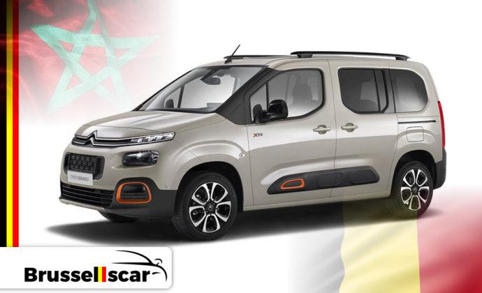 location de voiture Citroën berlingo – Agadir et Marrakech