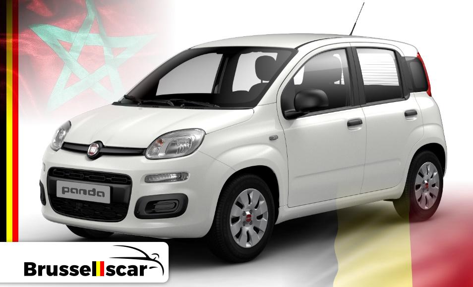 Location de voiture Mini-citadines FIAT Panda, 5 places pas cher à Agadir et marrakech aéroport chez SaranzCar