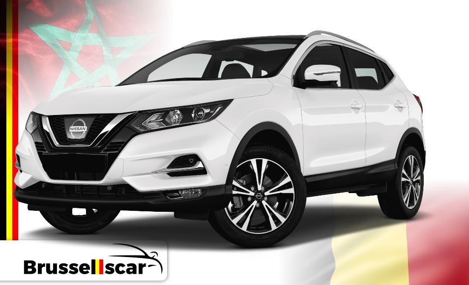 Location de voiture 4x4 Nissan Qashqai, 5 places pas cher à Agadir et marrakech aéroport chez SaranzCar
