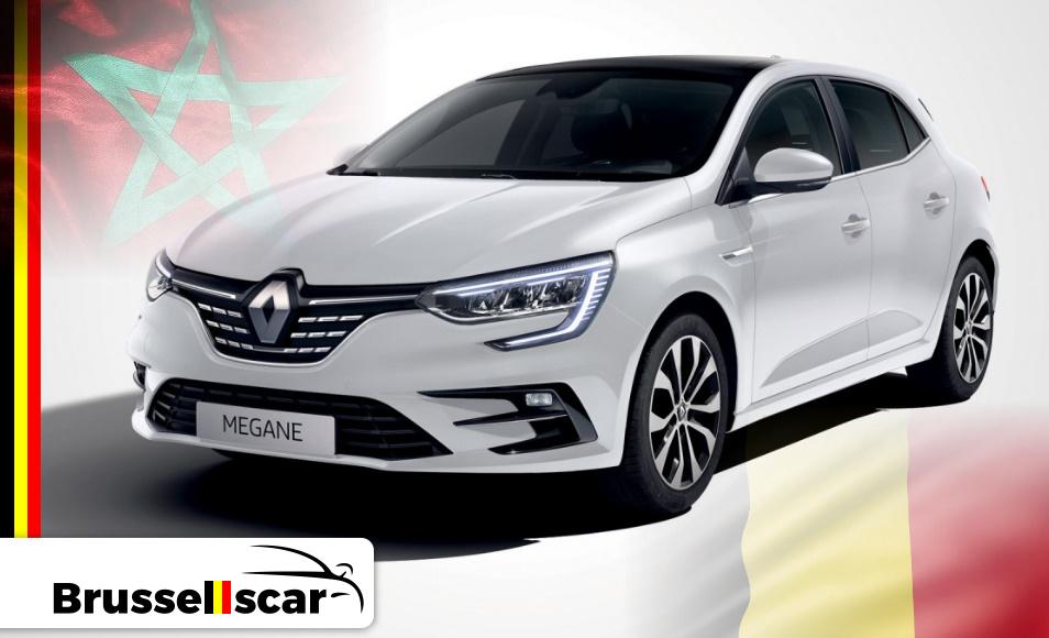 Location de voiture Économique Renault Mégane, 5 places pas cher à Agadir et marrakech aéroport chez SaranzCar