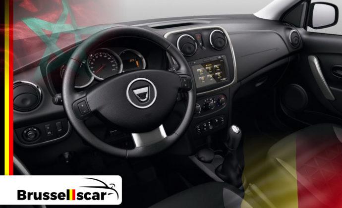 voiture de location à Agadir et Marrakech 4x4 Dacia Duster 5 places pas cher chez Brusselscar