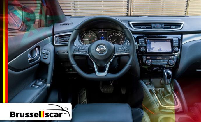 voiture de location à Agadir et Marrakech 4x4 Nissan Qashqai 5 places pas cher chez Brusselscar