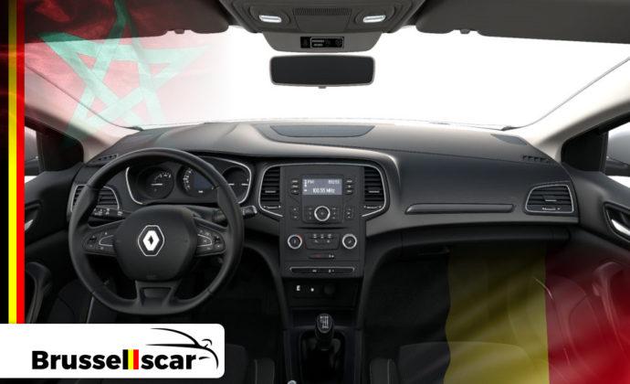 voiture de location à Agadir et Marrakech Économique Renault Mégane 5 places pas cher chez Brusselscar