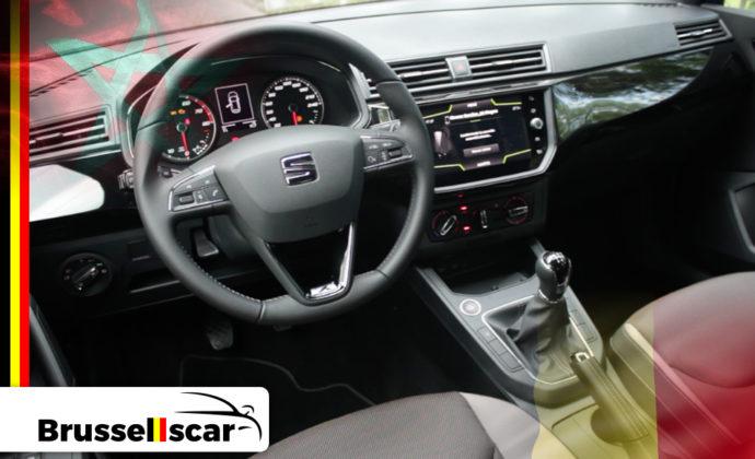 voiture de location à Agadir et Marrakech Économique SIAT Ibiza 5 places pas cher chez Brusselscar
