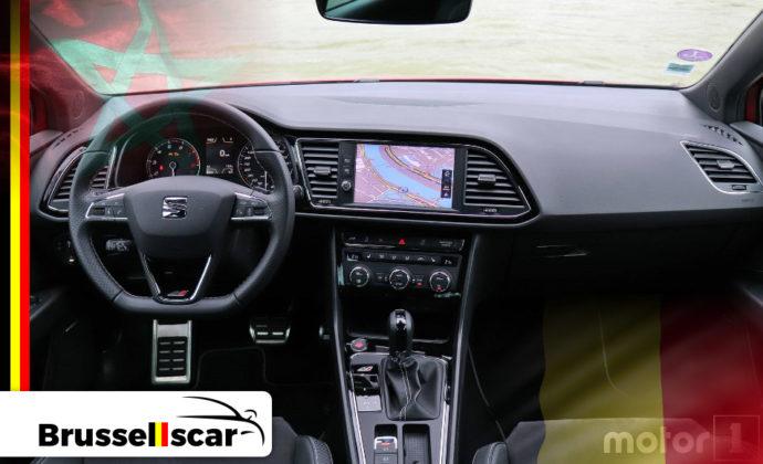 voiture de location à Agadir et Marrakech Citadine SIAT Leon 5 places pas cher chez Brusselscar