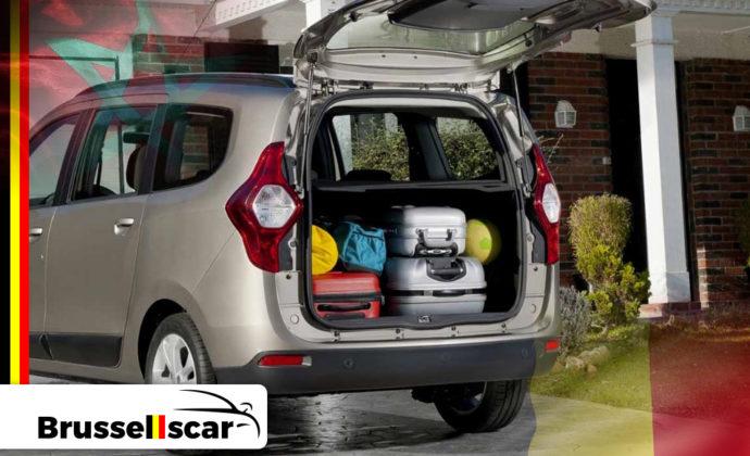 voiture de location à Agadir et Marrakech Monospace Dacia LODGY 7 places pas cher chez Brusselscar