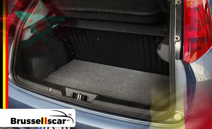 voiture de location à Agadir et Marrakech Mini-citadines FIAT Punto 5 places pas cher chez Brusselscar